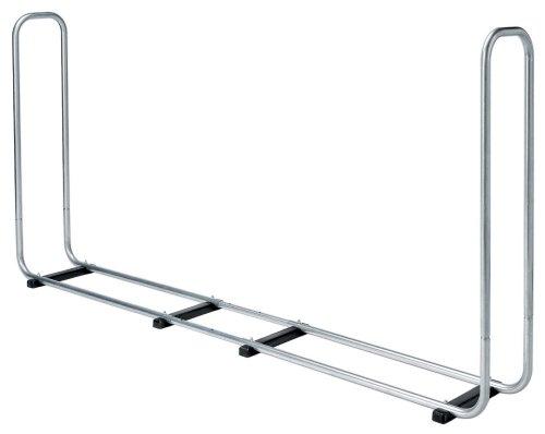 *wolfcraft Stapelhilfe Modular XXL 5125000 | Verstellbare Kaminholzaufbewahrung für den Außenbereich aus verzinktem Stahl | Max. Volumen: 1,6 m³*