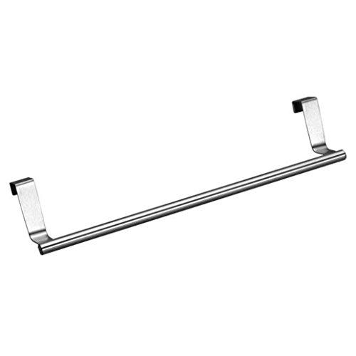 Badezimmer Schrank Handtuch Rack (HARRYSTORE Übertür Handtuch Rack Bar Hängehalter Badezimmer Küche Schrank Regal Rack)