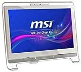 Ausklappbarer-optimiert MSI - AE1921-425XEU - PC, AIO 46,99 cm, T/S, 2 GB/320 GB WHITE - [Pack 1] - Min 3 Jahre Garantie Cleva