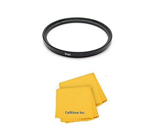 77mm High Definition Enhancing 6-Point Star Cross Filter for Canon Super Wide Angle EF 17-40mm f/4L USM Canon Super Wide Angle EF-S 10-22mm f/3.5-4.5 USM Canon Telephoto EF 100-400mm f/4.5-5.6L IS USM Canon Telephoto EF 70-200mm f/2.8L IS USM Canon Telephoto EF 24-105mm f/4L IS Canon Telephoto EF 24-70mm f/2.8L USM and Canon Wide Angle EF 28-300mm f/3.5-5.6L IS USM Lenses + CT Microfiber Cle  available at amazon for Rs.5583