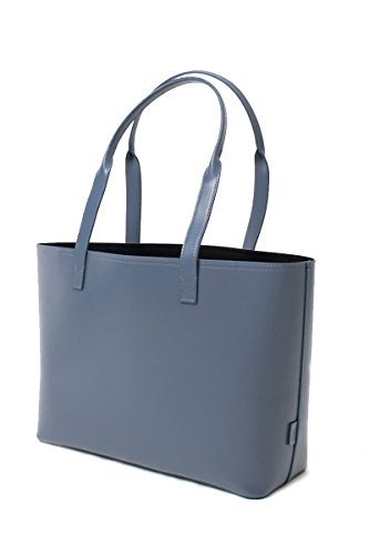 paperthinks-100-recycled-leather-small-tote-bag-charcoal-grey