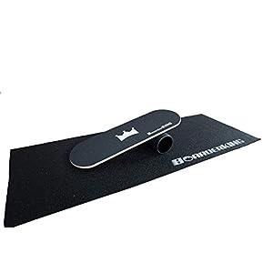Trend-Welt Indoorboard BoarderKING Skateboard Surfboard Trickboard Balanceboard – surfen im Wohnzimmer