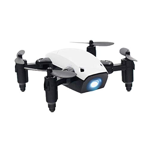 Coddington Pliable RC Mini Pocket Micro Drone Drone Hélicoptère RC avec FPV Caméra HD Jouet pour Enfants Cadeau