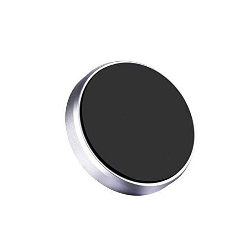 Magnetische Handyhalterung, Gusspower Auto Universal KFZ Halterung Magnet Autohalterung für iPhone X 8 Plus 7 6s, Samsung Galaxy Note 8 S8 S7 Edge S6 S5 S4 und Jedes Andere Smartphone (Silber)