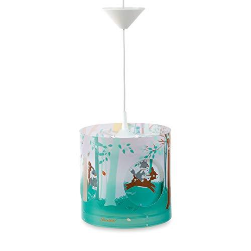 Sterntaler 9811835 Lampe Pendulaire Tournante Waldis Multicolore