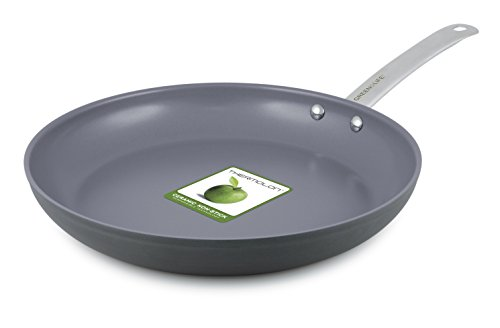 GreenLife 12 Inch Hard Anodized Non-Stick Ceramic Gourmet Fry Pan by The Cookware Company Gourmet Non-stick Fry Pan