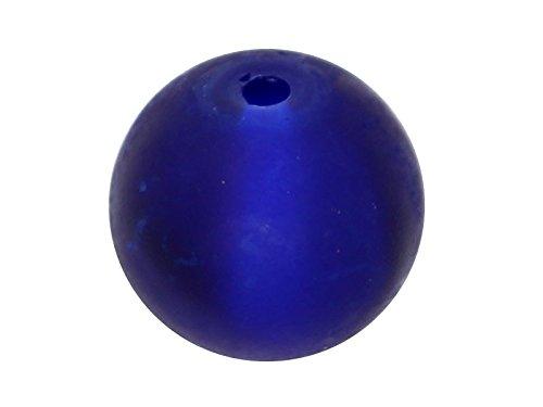 200-x-perle-en-verre-givre-4mm-bleu-royal