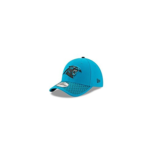 New Era 39Thirty Cap - NFL 2017 SIDELINE Carolina Panthers, Gr. S/M, Farbe: Blue