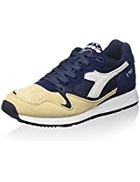 Diadora shape 6SL Zapatos Deportivos Hombre Negro Piel negro Size: 44 aFEr3