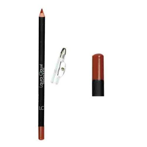 Laura Clauvi : Un Crayon couleur - YEUX & LEVRES - Teinte BRUN FONCE 12