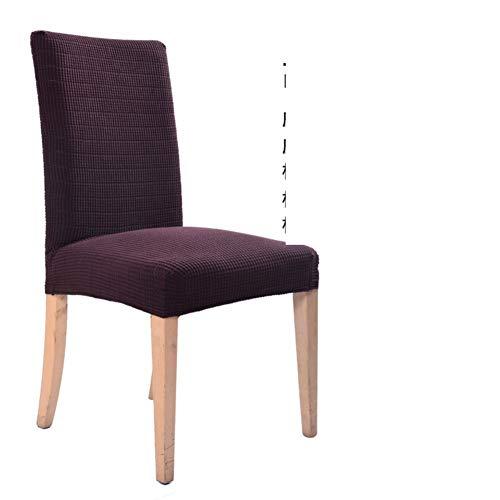 Sishe Stuhl Silpcover Elastische Stuhlbezüge Haushalt verdickte siamesische Bezüge g Stuhlsets Bürostuhlbezug-B by (Farbe : H)