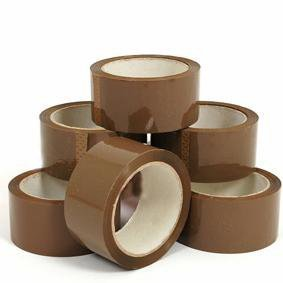 6-rolls-brown-buff-packing-tape-parcel-tape-by-speedy-packaaging