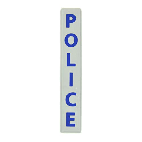 Parches - POLICE - PVC - Rubber - Country - Biker- Motorbike - Motorsport -  Motorcycles - Biker - Emblema - Patch - Customize