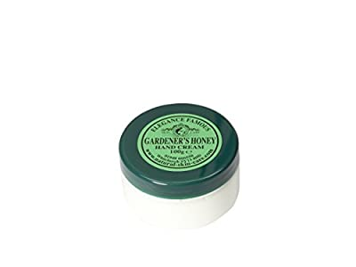 Famous Gardener's Honey Hand Cream 100g by Elegance Natural Skin Care. Great for dry, chapped hands and split fingers.