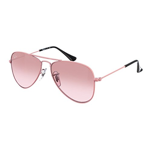 Ray-Ban Sunglasses Aviator Junior Pink, 50