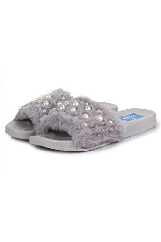 Appett Women's Faux Fur Slippers