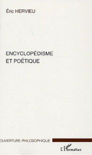 Encyclopédisme et poétique