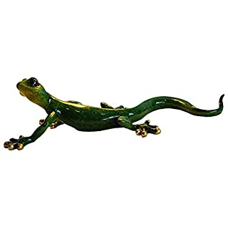 Aljec Speckled Gecko, Green, Large