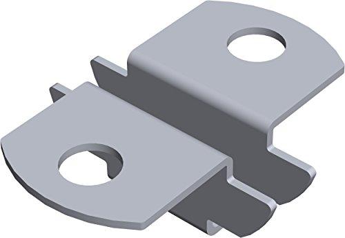 Element System Einsteckhalter für U-Träger Regalträger, 2-seitig, Auflage für Holz und Glasböden, Regalsystem, 11611-00000