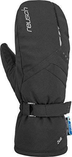 Reusch Damen Hannah R-TEX XT Mitten Handschuhe, Black/Silver, 8