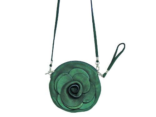 scarlet bijoux, Borsa a tracolla donna Verde - verde