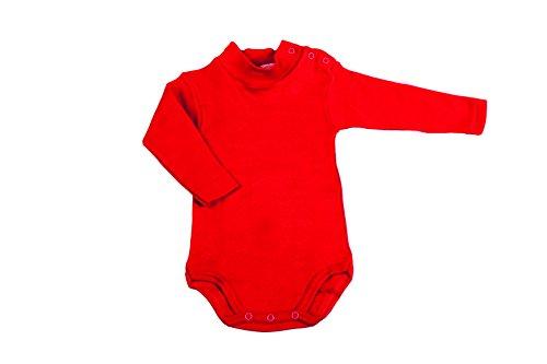 BabyVip - Body Mod. Lupetto Manica Lunga 100% Cotone Caldo - 6-9mesi