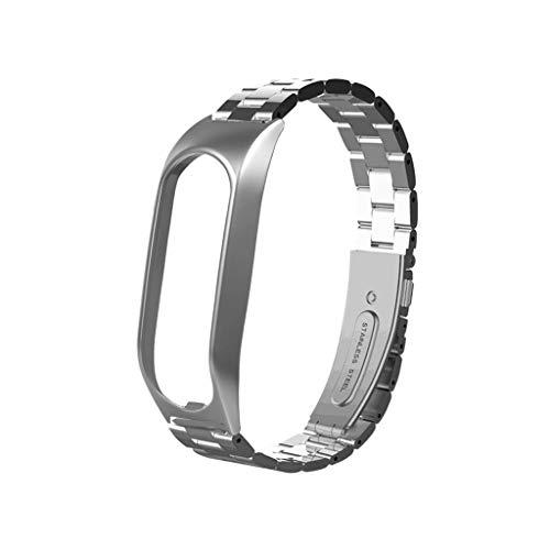 Upxiang Kompatibles für Tomtom Touch Metall Ersatzarmband Fitness Tracker Uhrenarmband mit Lünette Verstellbare Wrist Band Strap