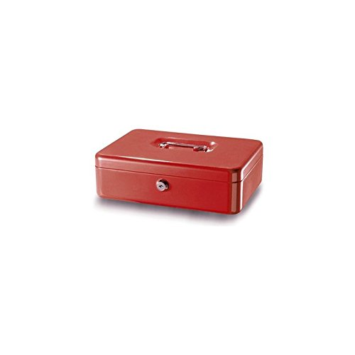 Rieffel VT-GK 3 Acero Rojo Caja portallaves y Organizador - Armario para...