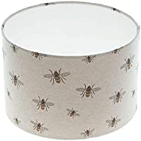 Bees Drum Lampshade 20cm 25cm 30cm 35cm 40cm Lamp Shade Lightshade