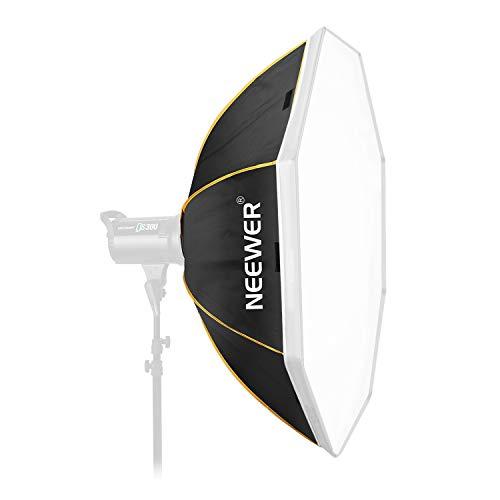 Neewer 36 Zoll / 90 Zentimeter achteckige Softbox mit Bowens Montage Speedring und Tasche Kompatibel mit Studio Strobe Blitz Monolight für Portrait und Produktfotografie -