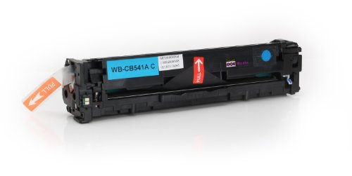 Toner kompatibel zu HP CB541A | Cyan für ca. 1.400 Seiten |...