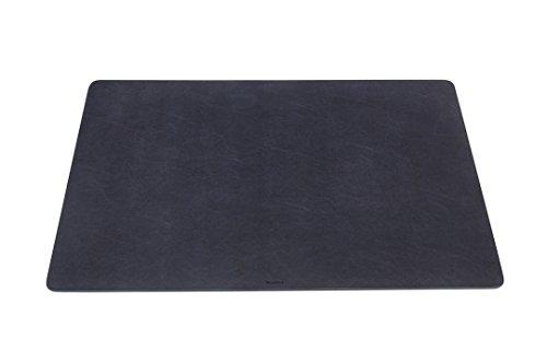 Durable Schreibtischunterlage mit abgerundeten Ecken 65 x 40 cm - Made in Italy (Marineblau)