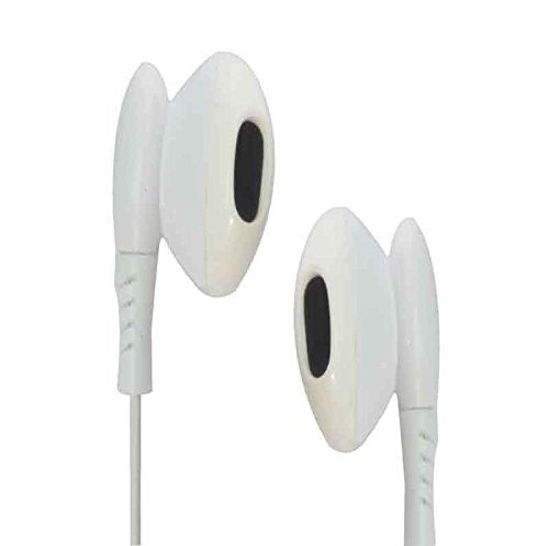 ECellStreet Premium Earphones Headphones with Noise Cancellation With Remote Control And Stereo Mic for Spice M-6112 - White  available at amazon for Rs.222