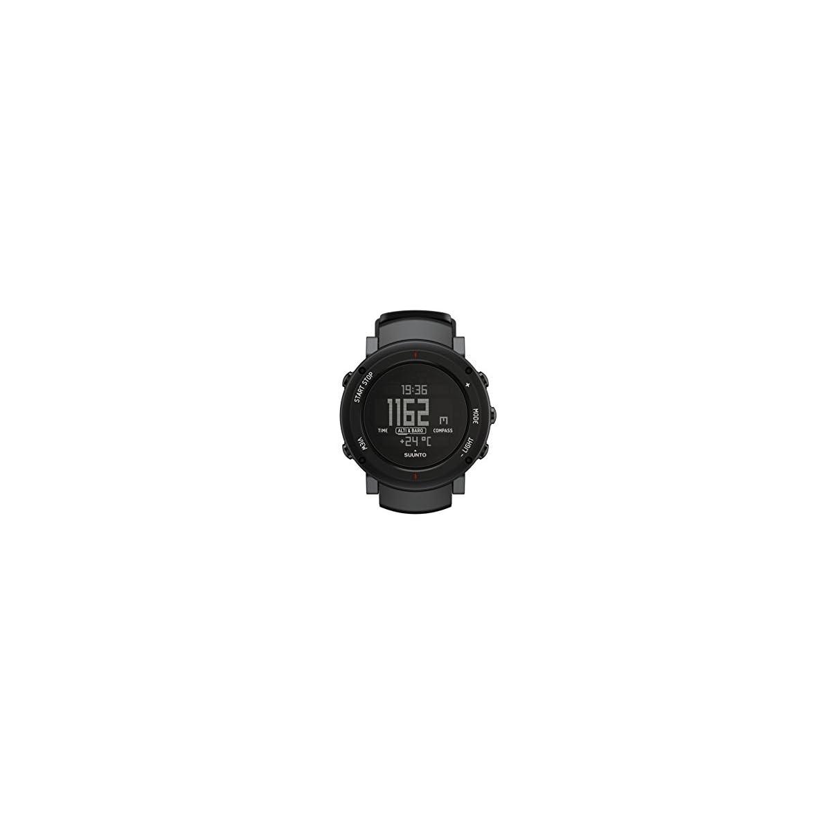 31FCSYvPcWL. SS1200  - Suunto Core Alu Deep - Reloj de exterior para todas las altitudes, sumergible (30 m), con altímetro y barómetro, esfera de aluminio, color aluminio y negro