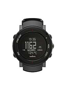 Suunto Unisex Core Outdoor-Uhr für alle Höhenlagen, Höhenmesser, Barometer, Wetterfunktionen, Aluminiumgehäuse, schwarz, Wasserfest (30 m), SS018734000