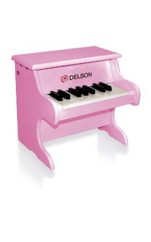 Delson 1822P Piano pour bébé Rose