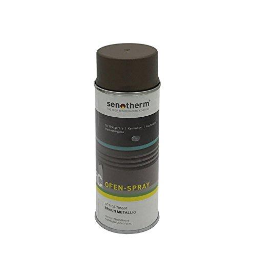 Senotherm Ofenlack Sprühdose 400ml braun 17-1102-705591