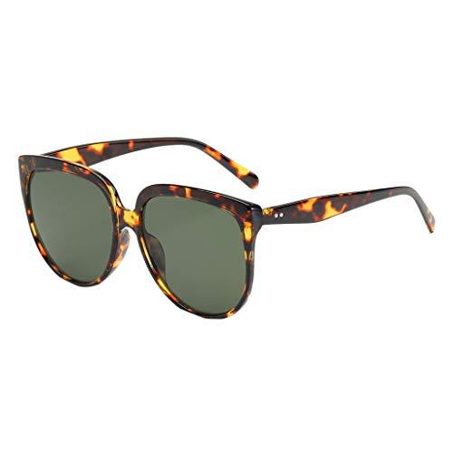 CANDLLY Brillen Damen, Zubehör Sonnenbrillen für Männer und Frauen Im Freien Reisen unregelmäßige Form Sonnenbrille Vintage Mode Retro-Stil Brille