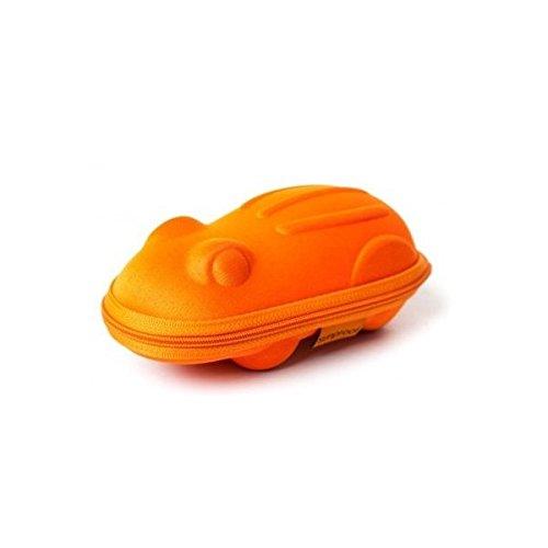 Baby Banz – Lunettes de soleil étui – Orange Grenouille