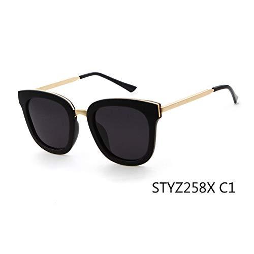 Taiyangcheng Gafas de sol polarizadas para Mujer Gafas de sol Con ojo de gato para Hombres,C1