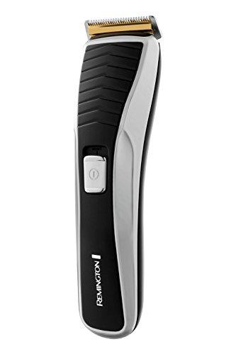 Remington HC7130 Haarschneider ProPower Titanium, titanbeschichtete Klingen, schwarz/silber