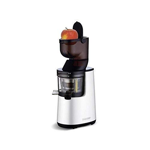 BioChef Atlas Whole Slow Juicer - Estrattore di succo, 250 W, colore: Bianco