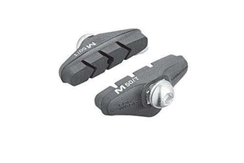 SHIMANO Rennbremsschuhe M50T per Paar, für Alu-Felgen