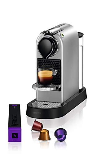 Krups Nespresso Citiz Cafetière à dosettes Silver YY4118FD