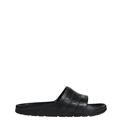 227da39df604 adidas Duramo Slide Sandal, Black/Black/Black, 9 M US
