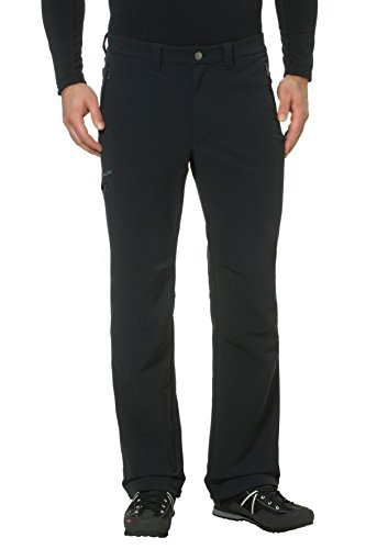 b3f36024bcf7 Vaude Strathcona - Pantalones para hombre, color Negro, talla 52/L-Long
