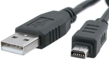 High Grade - USB cable for Olympus Digital Cameras - USB CABLE CB-USB5/CB-USB6 - Works with Olympus model by Network-Trading ®