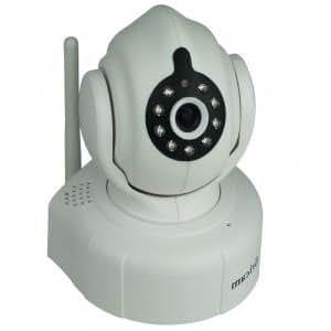 Sricam AP008 Wireless 720P Pan-tilt P2P Indoor Baby Monitor Camera IP Camera with IR Cut White