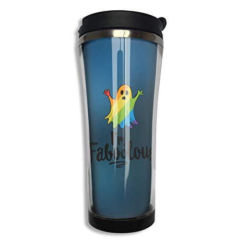 I'm Faboolous Halloween Stainless Steel Coffee Mugs 14.2 Oz Travel Mug Leakproof Insulated