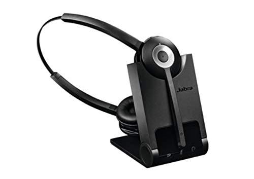Jabra PRO 920Professionelle kabellose DECT Binaural Headset-Schwarz Digital Cordless Phone System